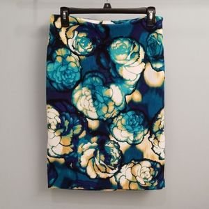 Worthington Floral Print Pencil Skirt in Size 6